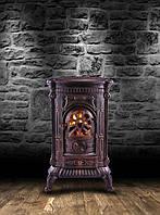 Камин печь буржуйка чугунная Bonro Gold double wall 9 кВт