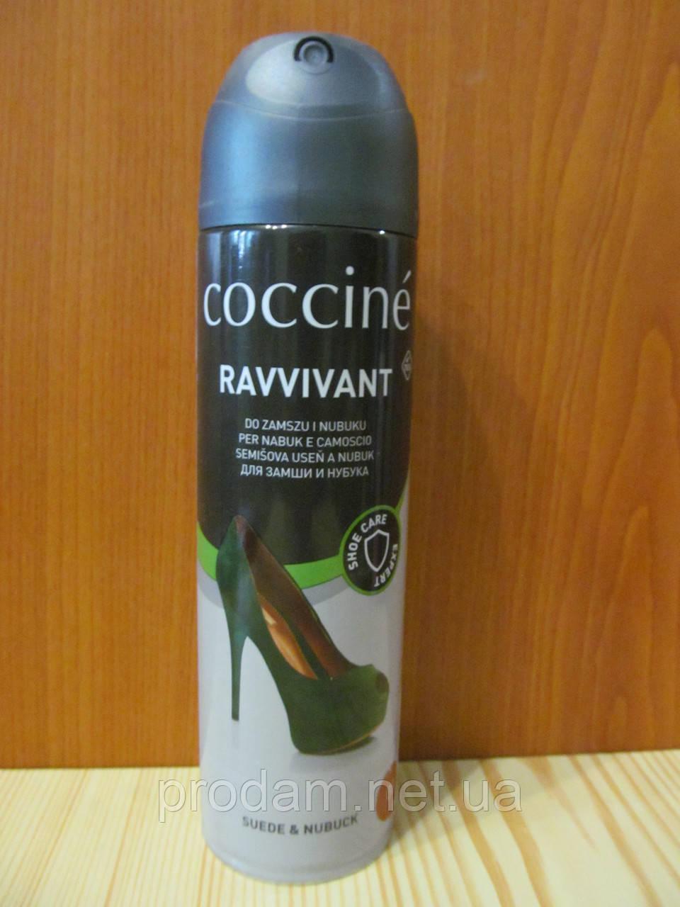 Аэрозоль синий для замши и нубука Coccine