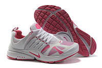 Кроссовки женские Nike Air Presto (найк аир престо) розово-белые