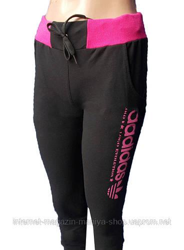 Спортивные штаны женские манжет Adidas