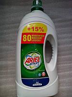 Гель для стирки белого и светлого Ariel Actilift 5.65 л на 80 стирок