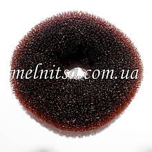 """Валик-бублик для прически """"Бабетта"""" (гулька), 9,5-10 см"""