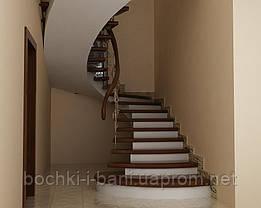 Элементы лестниц. Ступени из массива., фото 3