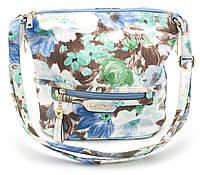 Яркая женская сумка с светлым цветочным принтом Б/Н art. 9346