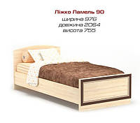 Детская кровать ДИСНЕЙ 90 (односпальная) Мебель Сервис