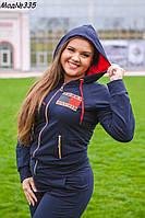 Спортивный костюм женский  Томми 335 батал н.м