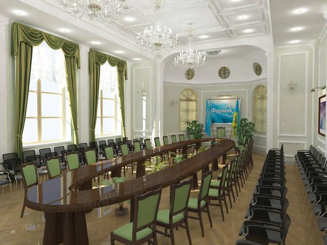 Конференц зал в классическом стиле