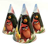 """Колпачки бумажные """"Angry Birds 2"""".  Размер: 16см."""