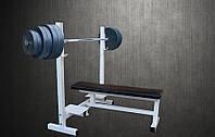 Скамья для жима RN Sport профессиональная + Штанга 150 кг