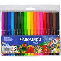 """Фломастер 18 цветов """"ФЛОМИКИ"""""""