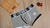 Мужские трусы боксёры Diesel, серые, фото 1