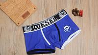 Мужские трусы боксёры Diesel, синие, фото 1