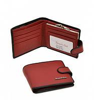 Женский кошелек Alessandro Paoli WS-516 красный из натуральной кожи с внутренней монетницей на защелке
