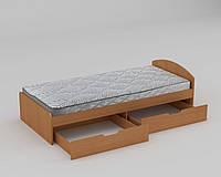 Детская кровать 90 + 2 (односпальная) Компанит