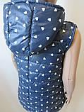 Безрукавки с капюшоном для девочек., фото 4