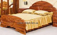 Кровать ЭМИЛИЯ 160 (двуспальная) старый дуб Світ меблів