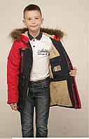 Зимние куртки и пуховики на мальчиков подростков