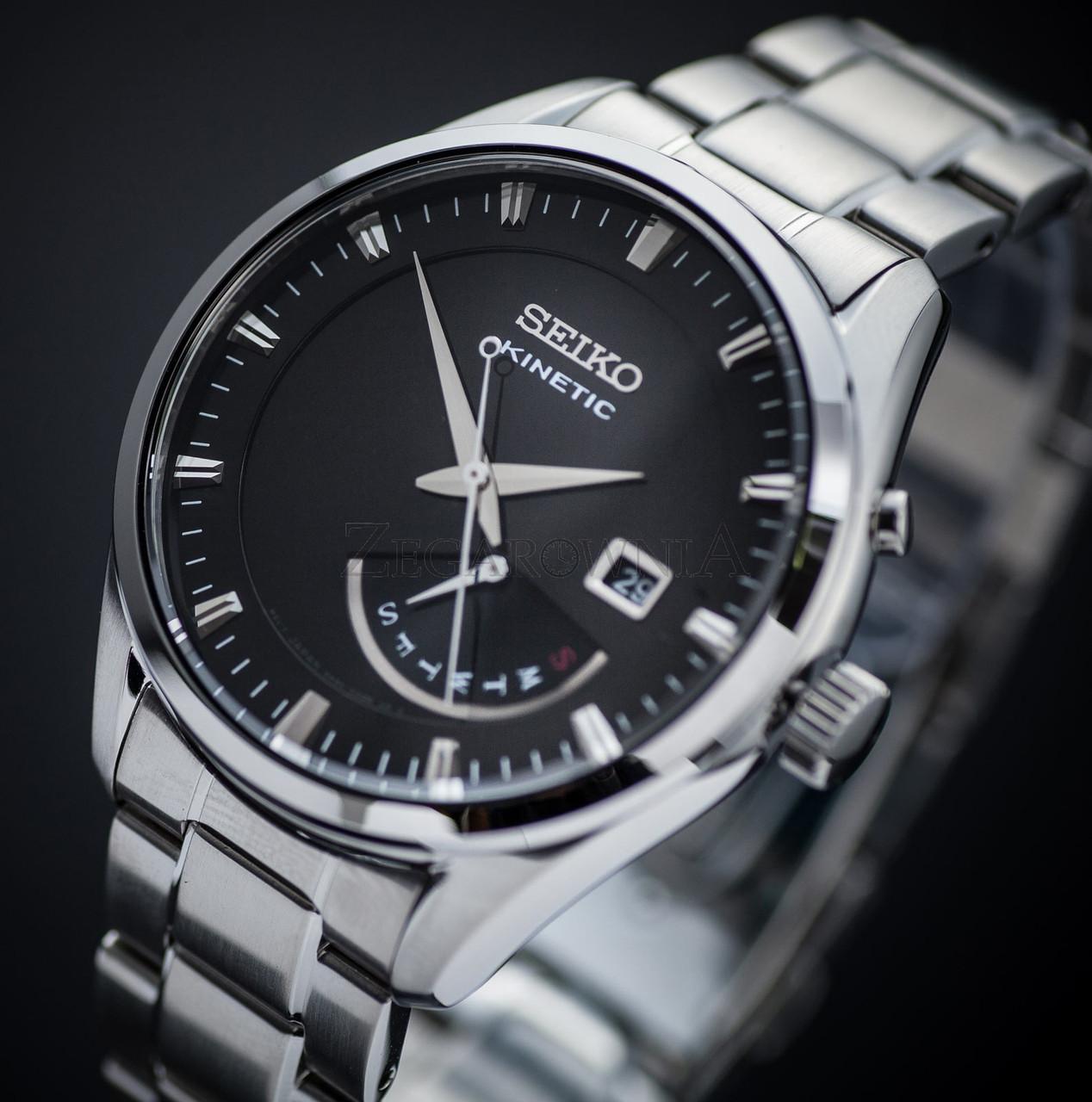 Часы Seiko SRN045P1 Kinetic 5M84