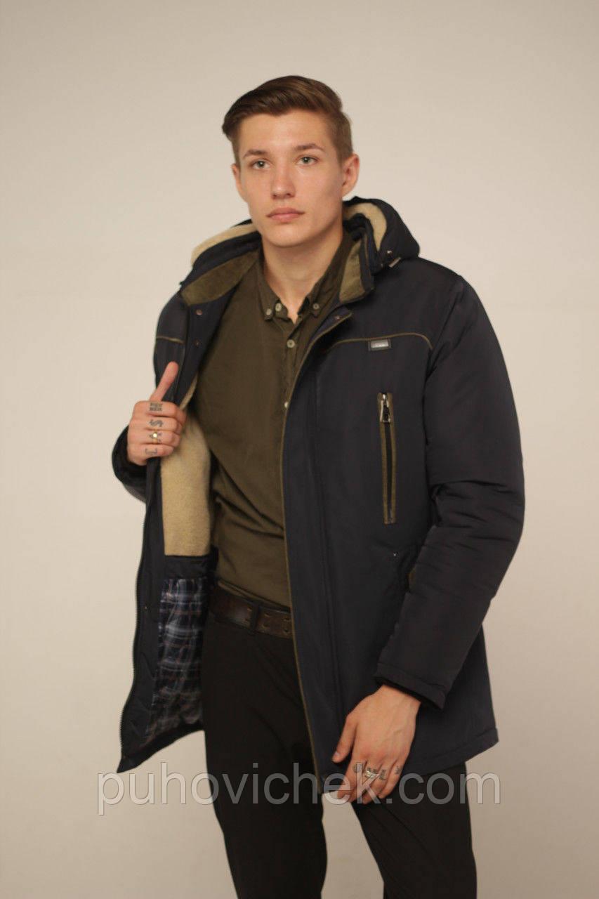 Зимняя мужская куртка большие размеры