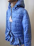 Однотонные куртки для девочек, фото 3