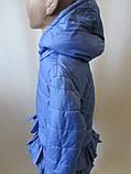 Однотонные куртки для девочек, фото 4