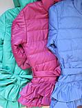 Однотонные куртки для девочек, фото 6