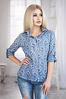 Рубашка женская огурцы  № 3009 пал.