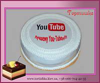 Торт You Tube ЮТуб
