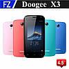 Doogee X3, 4.5'' MT6580, RAM 1 / ROM 8, 3G, Wi-Fi