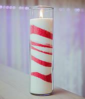 Цветные насыпные свечи, цветной воск