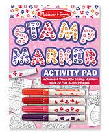 Штампики-маркеры для девочек, 4шт., Melissa&Doug