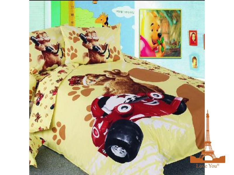 Подростковый комплект постельного белья Сатин 155х220   TD 152 Гарфилд