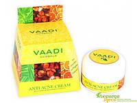 Крем анти-акне с нимом, гвоздикой и апельсином, Vaadi Herbals Anti-Acne Cream, Аюрведа Здесь!