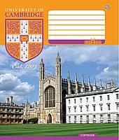 Тетради Зошити України 24 листа в линию CAMBRIDGE History -16