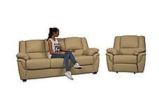 """Раскладной диван в комплекте с креслом-реклайнером """"ALABAMA"""", бежевый, фото 2"""
