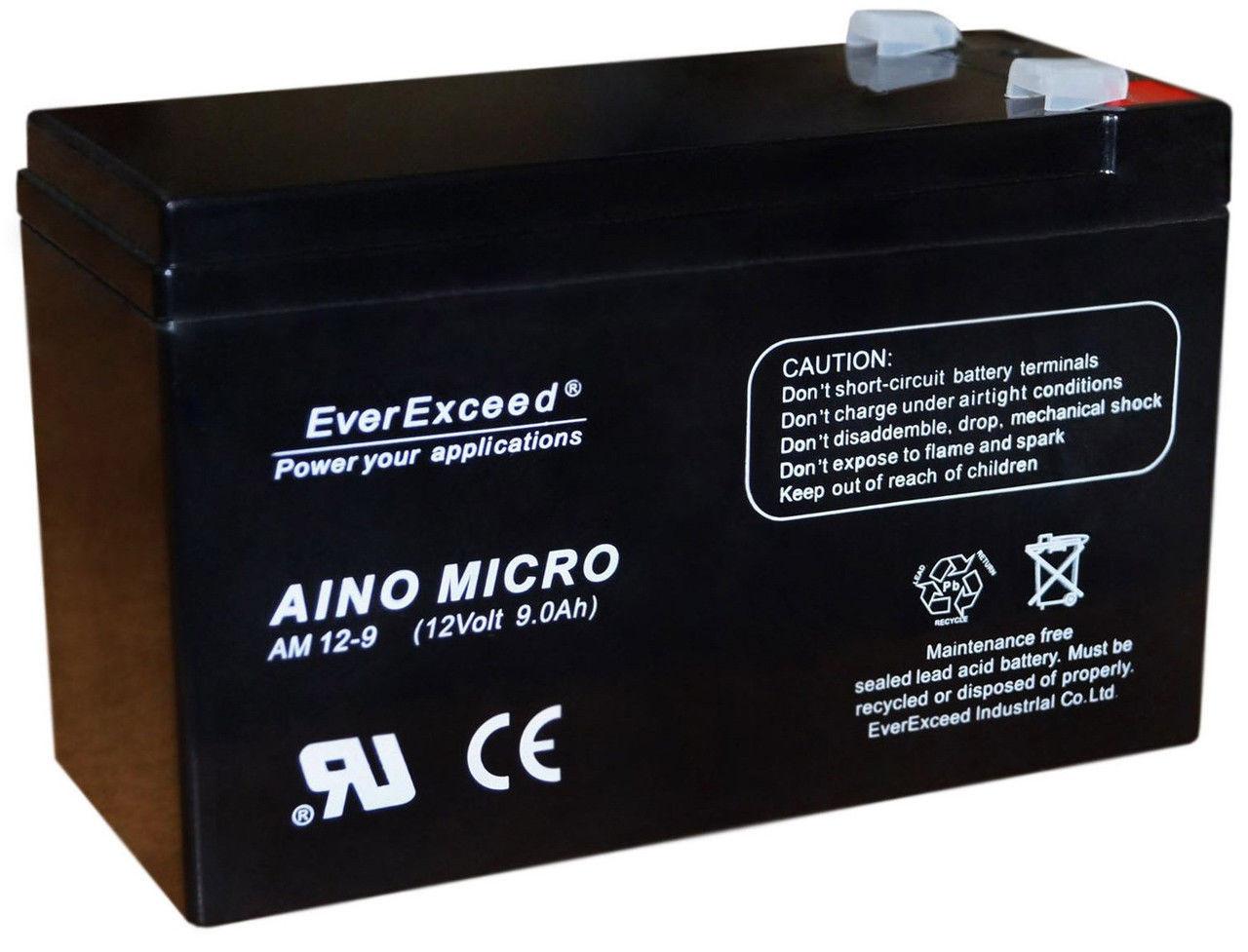 Акумулятор EverExceed AM 12-9.5