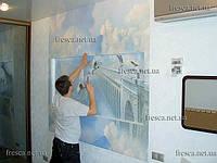 Роспись стен цифровыми фресками