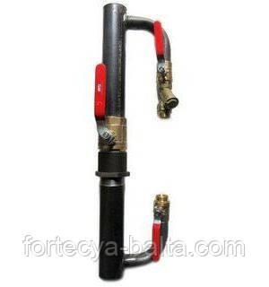 Байпас для систем опалення DN 40 кран (короткий)