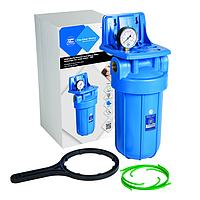 """Усиленный натрубный корпус фильтра типа """"Big Blue"""" Aquafilter FH10B1-В-WB"""