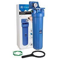 """Усиленный натрубный корпус фильтра типа """"Big Blue"""" Aquafilter FH20B1-В-WB"""