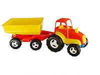Трактор колесный с прицепом Kinderway 07-709