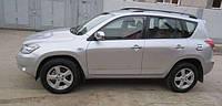 """Рейлинги """"оригинал"""" черные Toyota rav 4 III (тойота рав 4) 2006-2011"""