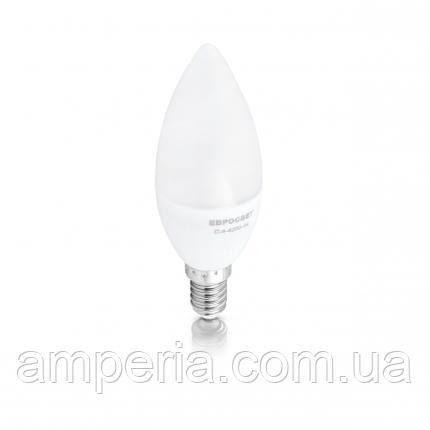 Евросвет Лампа светодиодная свеча С-4-4200-14, фото 2
