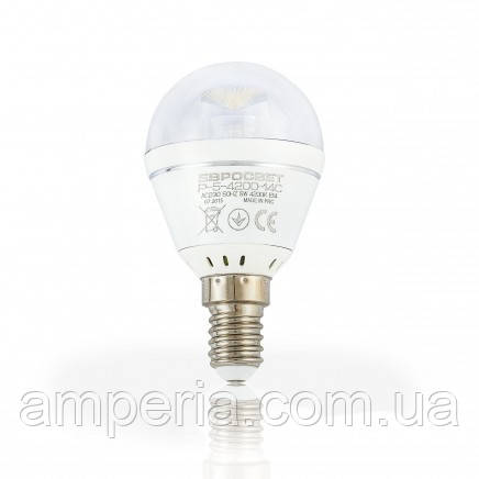 Евросвет Лампа светодиодная Р-5-4200-27С
