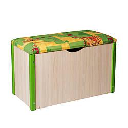 """Ящик для игрушек """"Балу"""" зелёный"""