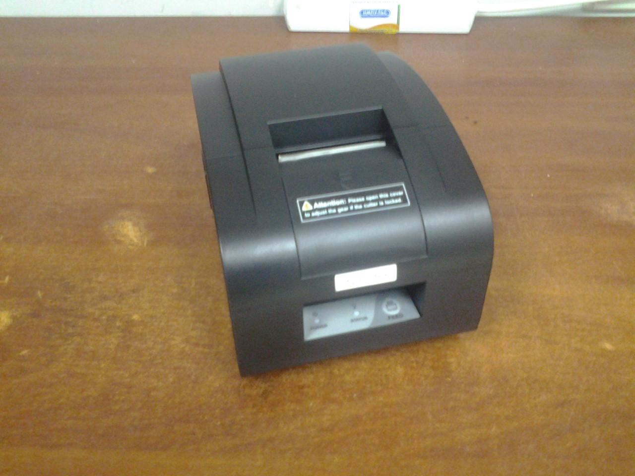 Чековый принтер XPRINTER XP-T58NC E (Ethernet, автообрезка чека, 57 мм)