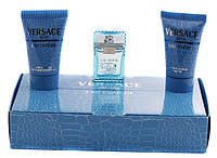 Versace Man Eau Fraiche - Набор (Оригинал) (mini edt 5ml+a/sh 25ml+sh/gel 25ml)