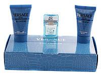 Versace Man Eau Fraiche - Набор (Оригинал) (mini edt 5ml+a/sh 25ml+sh/gel 25ml)