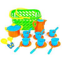 Kinderway Посуда в корзинке 04-437