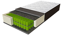 Матрас Delta / Дельта 800х2000х280мм ЕММ Sleep&Fly ORGANIC IQ Double независимые пружины 150кг